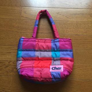 シェル(Cher)のお値下げ☆cher キルティングバッグ 付録(トートバッグ)