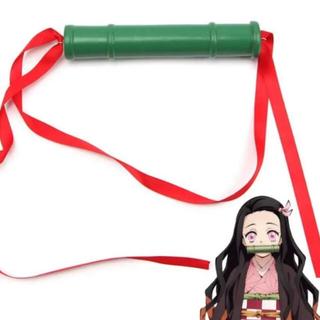 新品鬼滅の刃☆ねずこ しのぶ コスプレ 竹 小道具 衣装 仮装 クリスマス(小道具)