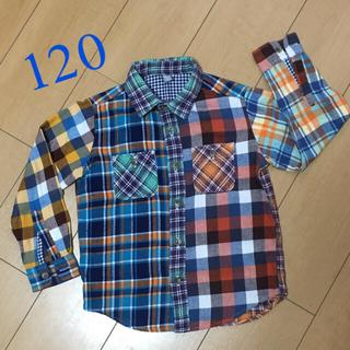 UNIQLO ネルシャツ 120