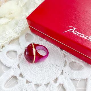 バカラ(Baccarat)のバカラ クリスタルリング MEDICIS メディチ Baccarat 指輪(リング(指輪))