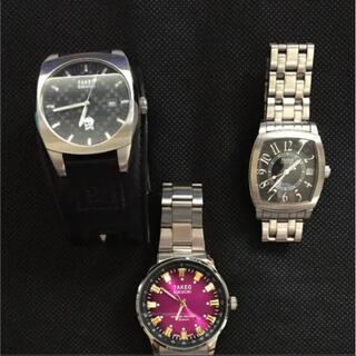 タケオキクチ(TAKEO KIKUCHI)のタケオキクチ 腕時計 三点セット(腕時計(アナログ))