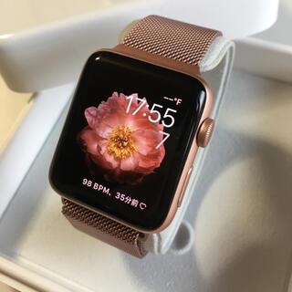 アップルウォッチ(Apple Watch)のレア色 Apple Watch 2 RoseGold アップルウォッチ 42mm(その他)