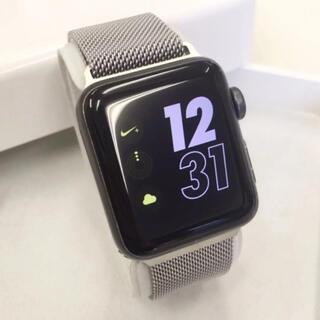 アップルウォッチ(Apple Watch)のApple Watch シリーズ3 GPS ナイキ 38mm アップルウォッチ(その他)