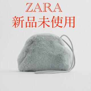 ザラ(ZARA)の新品未使用❗️フェイクファークロスボディバッグ(ボディバッグ/ウエストポーチ)