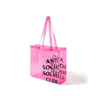 アンチ(ANTI)のAnti Social Social Club エコ トートバッグ ピンク(トートバッグ)