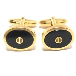 ダンヒル(Dunhill)のダンヒル カフス - 金属素材 ゴールド×黒(その他)