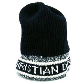クリスチャンディオール(Christian Dior)のクリスチャンディオール ニット帽美品 (ニット帽/ビーニー)