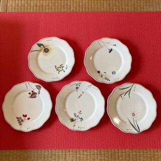 ミカサ(MIKASA)のミカサ 前田まゆみ リトルガーデン お皿 5枚セット(食器)