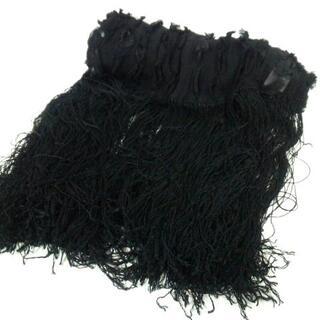 イランイラン(YLANG YLANG)のイランイラン ストール(ショール) 黒(マフラー/ショール)