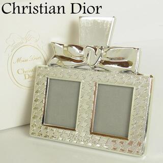 クリスチャンディオール(Christian Dior)のクリスチャン ディオール リボン デザイン ミニ フォト フレーム スタンド(フォトフレーム)