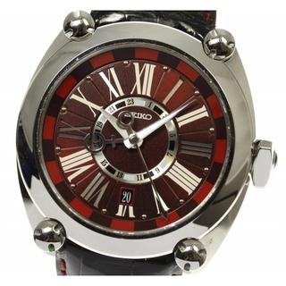 セイコー(SEIKO)の☆良品 セイコー ガランテ メカニカル GMT SBLM005 メンズ 【中古】(腕時計(アナログ))