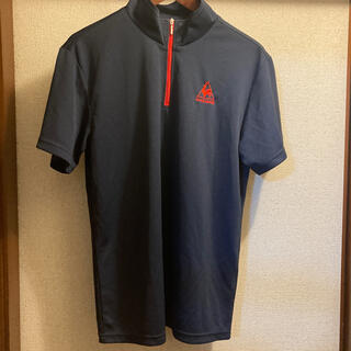 ルコックスポルティフ(le coq sportif)のルコック 未使用ジッブTシャツ Lサイズ(Tシャツ/カットソー(半袖/袖なし))