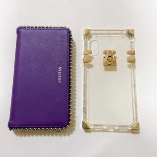 ムルーア(MURUA)のiPhone XS用ケース♡二個セット♡(iPhoneケース)