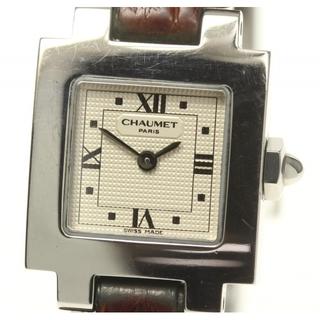 ショーメ(CHAUMET)のショーメ スタイル カレ   クォーツ レディース 【中古】(腕時計)