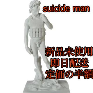 メディコムトイ(MEDICOM TOY)のSUICIDE MAN (GESSO Ver.)Painted by DAN(彫刻/オブジェ)