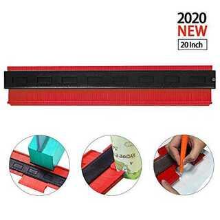 レッド型取りゲージ 500mm Bisoff 測定工具 測定ツール ゲージ コン(その他)
