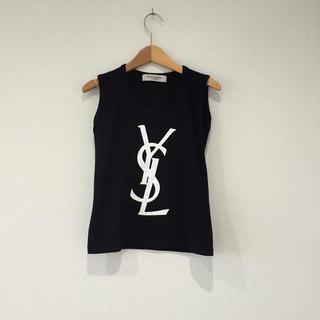 イヴサンローランボーテ(Yves Saint Laurent Beaute)のYSL ロゴ タンクトップ(タンクトップ)