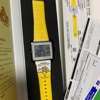 エプソン(EPSON)のスマートキャンバス リラックマ 15周年 限定モデル レア(腕時計)