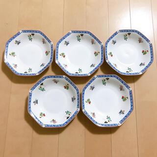 ナルミ(NARUMI)の新品 NARUMI  中華 八角 皿 5枚セット(食器)