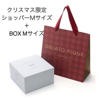 ジェラートピケ(gelato pique)のジェラートピケ クリスマス限定 ラッピングセット Mサイズ(ショップ袋)
