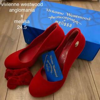 ヴィヴィアンウエストウッド(Vivienne Westwood)のヴィヴィアン ウエストウッド アングロマニア メリッサ パンプス 24.5cm(ハイヒール/パンプス)
