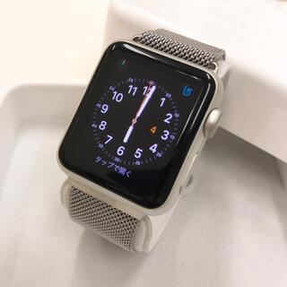 アップルウォッチ(Apple Watch)のApple Watch SPORT シルバー アップルウォッチ 38mm(その他)
