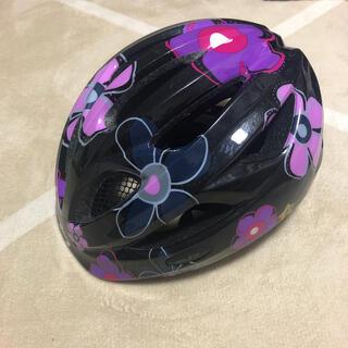 子ども用 花柄 ヘルメット(その他)