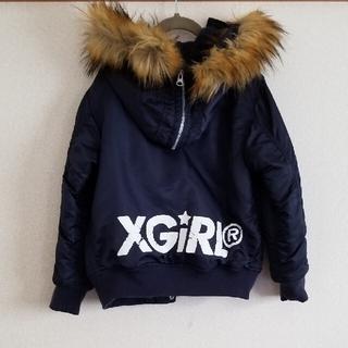 エックスガールステージス(X-girl Stages)のX-girl stages ジャンパー コート(コート)