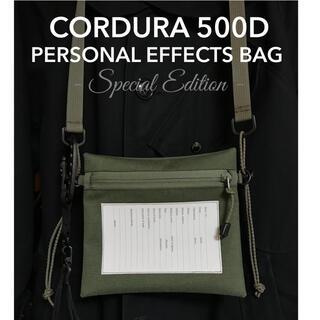 エンジニアードガーメンツ(Engineered Garments)の特別仕様 コーデュラ500D パーソナルエフェクトバッグ サコッシュ(ショルダーバッグ)