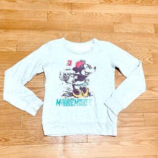 ミニーマウス(ミニーマウス)の美品 ミニーマウス トレーナー スウェット(トレーナー/スウェット)