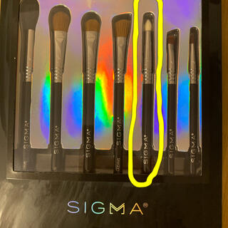 シグマ(SIGMA)のSigma アイシャドウ ブラシ E30(ブラシ・チップ)