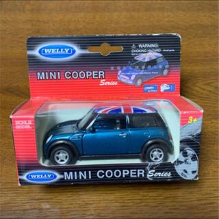 ビーエムダブリュー(BMW)の【未使用品】WELLY mini cooper プルバックミニカー(ミニカー)