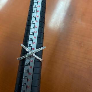 ココシュニック(COCOSHNIK)のk10WG ダイアモンドリング(リング(指輪))