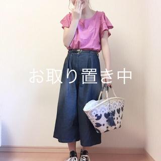 カスタネ(Kastane)の【新品】フリンジトップス(シャツ/ブラウス(半袖/袖なし))