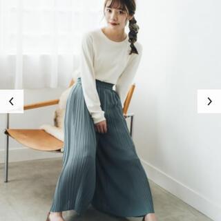ユニクロ(UNIQLO)の売却済み1/18 シフォンプリーツスカートパンツ ユニクロ(家庭用ゲーム機本体)