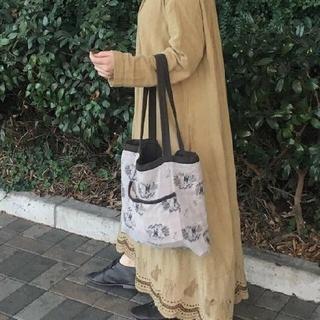 サマンサモスモス(SM2)のサマンサモスモス ムーミン刺繍ワンピース(ロングワンピース/マキシワンピース)