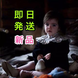 Kalinka カリンカ 黒 ブラック フロントボタン ニット ローンパス 長袖(その他)