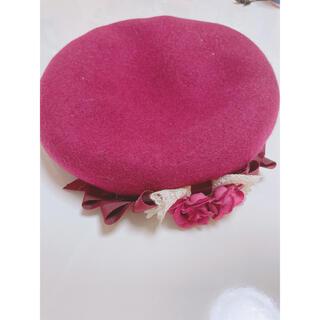 イノセントワールド(Innocent World)のイノセントワールド ベレー帽 ロリィタ(ハンチング/ベレー帽)