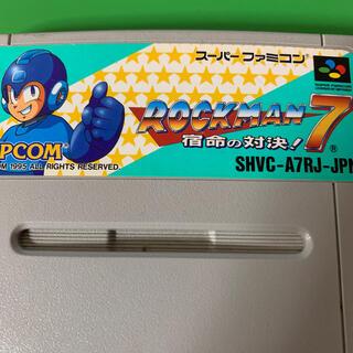スーパーファミコン ロックマン7(家庭用ゲームソフト)