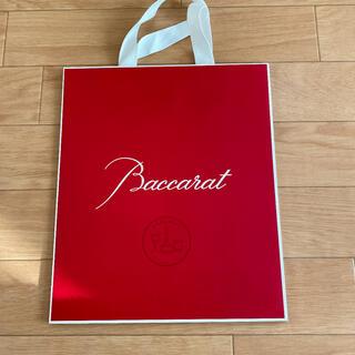バカラ(Baccarat)のバカラ ショッパー ショップ袋 紙袋(ショップ袋)