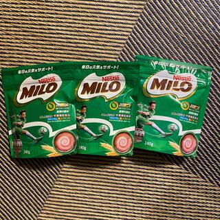 ネスレ(Nestle)のミロ 240g 3セット(その他)