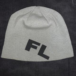 アベイシングエイプ(A BATHING APE)のFUTURA laboratoriesビーニー ニット帽 グレー オールド(ニット帽/ビーニー)