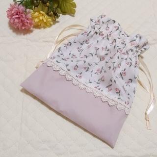 フローティングフローラ 巾着 給食袋 コップ袋(外出用品)