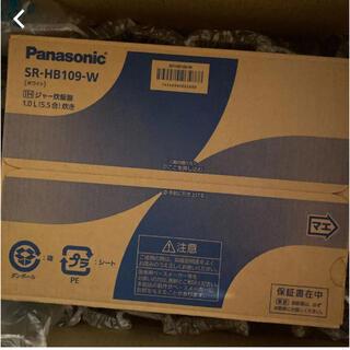 パナソニック(Panasonic)のパナソニック 炊飯器 5.5合 IH式 ホワイト SR-HB109-W(調理道具/製菓道具)