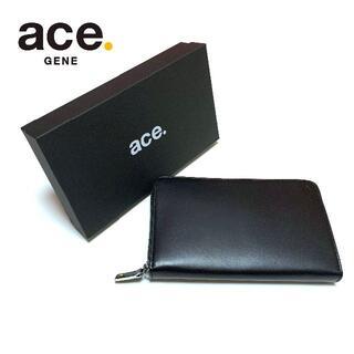 ACE GENE - 新品 エースジーン 長財布 ラウンドファスナー デュラビレット ウォレット