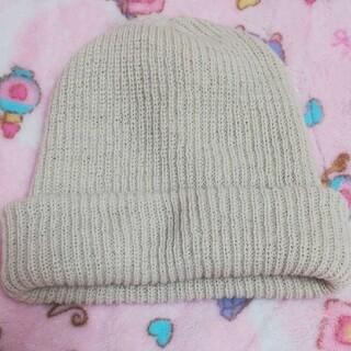 ユナイテッドアローズ(UNITED ARROWS)のUNITED ARROWS ユナイテッドアローズ レディース ニット帽 ベージュ(ニット帽/ビーニー)