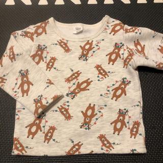アカチャンホンポ(アカチャンホンポ)の裏起毛トレーナー 95(Tシャツ/カットソー)