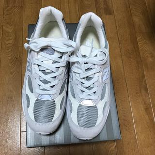 ニューバランス(New Balance)のnew balance992ホワイト28.5cm78000円を20000円値下げ(スニーカー)