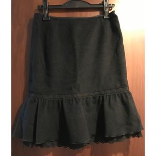 バービー(Barbie)のスカート ブラック(ひざ丈スカート)