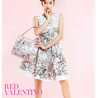 レッドヴァレンティノ(RED VALENTINO)のレッドヴァレンティノ ワンピース  red valentino  40(ひざ丈ワンピース)